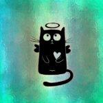 Cat Halo Funny Cute Heart  - Alexas_Fotos / Pixabay