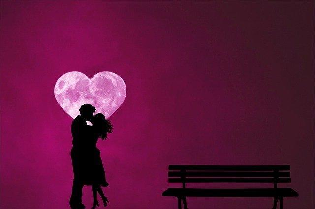 Couple Romantic Silhouette Love  - Tumisu / Pixabay
