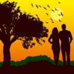 Couple Silhouette Sunset Sun Love  - susan-lu4esm / Pixabay