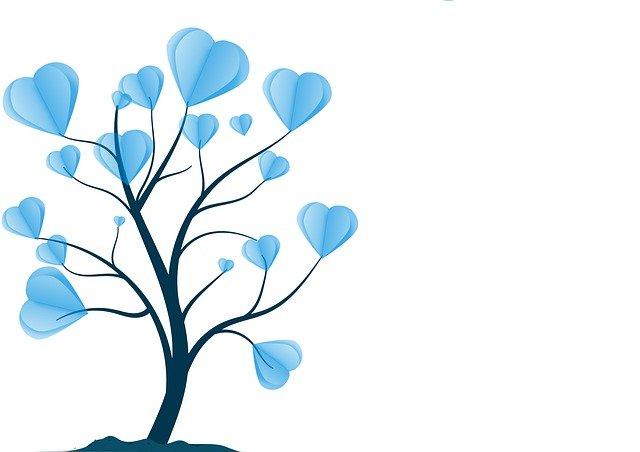 Filigree Tree Hearts Branches  - Alexandra_Koch / Pixabay