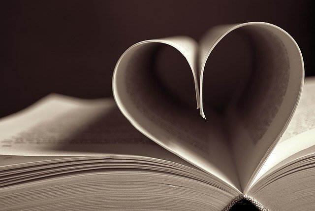 Heart Book Pages Book Pages  - Peggychoucair / Pixabay