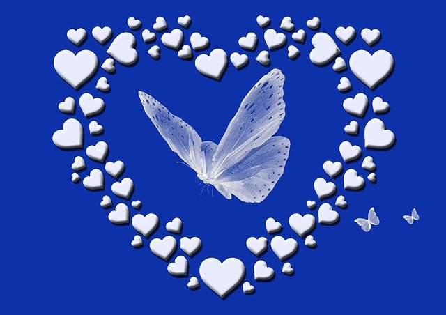 Heart Love Butterfly Mother S Day  - emmagrau / Pixabay