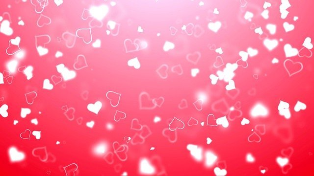 Hearts Red White Love Wedding  - motionstock / Pixabay