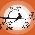 Landscape Bird Romantic Night Tree  - AJSTAR212 / Pixabay