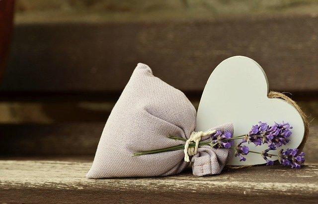 Lavender Fragrance Romantic Heart  - congerdesign / Pixabay