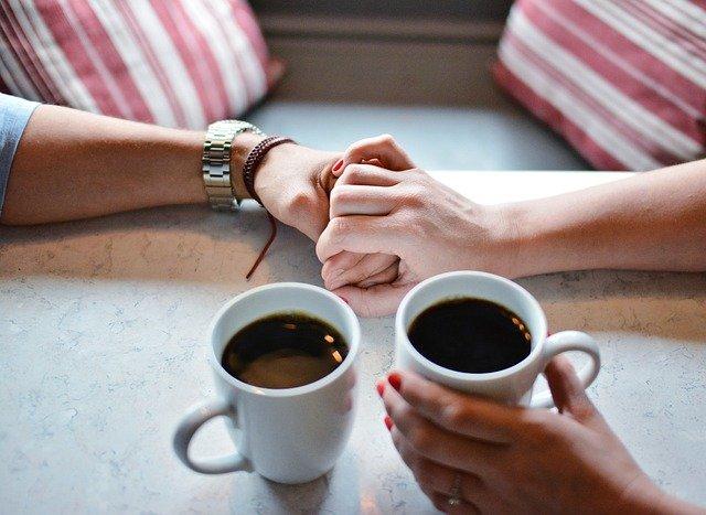 Love Coffe Cup Sweet Romance  - scronfinixio / Pixabay