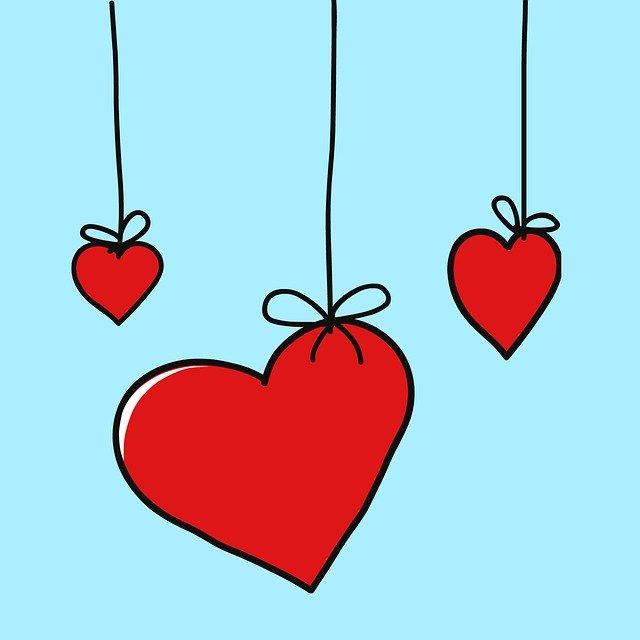 Love Heart Hearts Romance  - Victoria_Borodinova / Pixabay