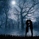 Romantic Silhouette Night Romance  - susan-lu4esm / Pixabay