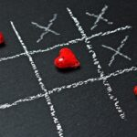 Tic Tac Toe Heart Game Chalk Love  - pixel2013 / Pixabay